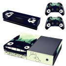Studio Ghibli skin decal for  Xbox one console and 2 controllers