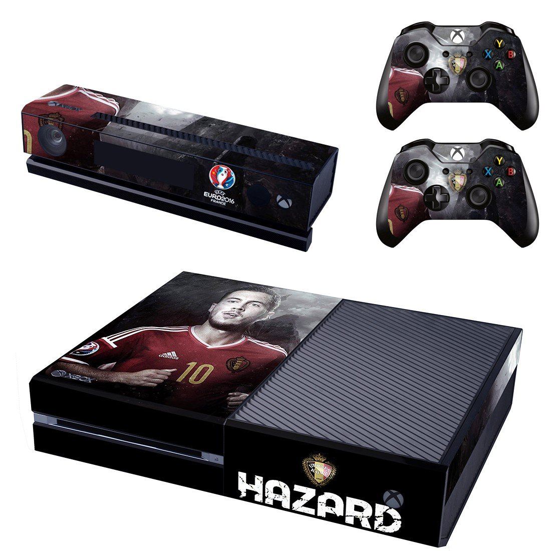 Euro2016 France Hazard skin decal for  Xbox one console and 2 controllers