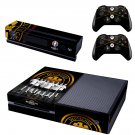 Euro2016 France Deutscher skin decal for  Xbox one console and 2 controllers