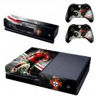 Potugal FPF skin decal for  Xbox one console and 2 controllers