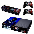 Euro2016 France FIGC Italia skin decal for  Xbox one console and 2 controllers