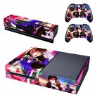 Fictional character skin decal for  Xbox one console and 2 controllers
