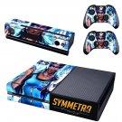 Symmetra skin decal for  Xbox one console and 2 controllers