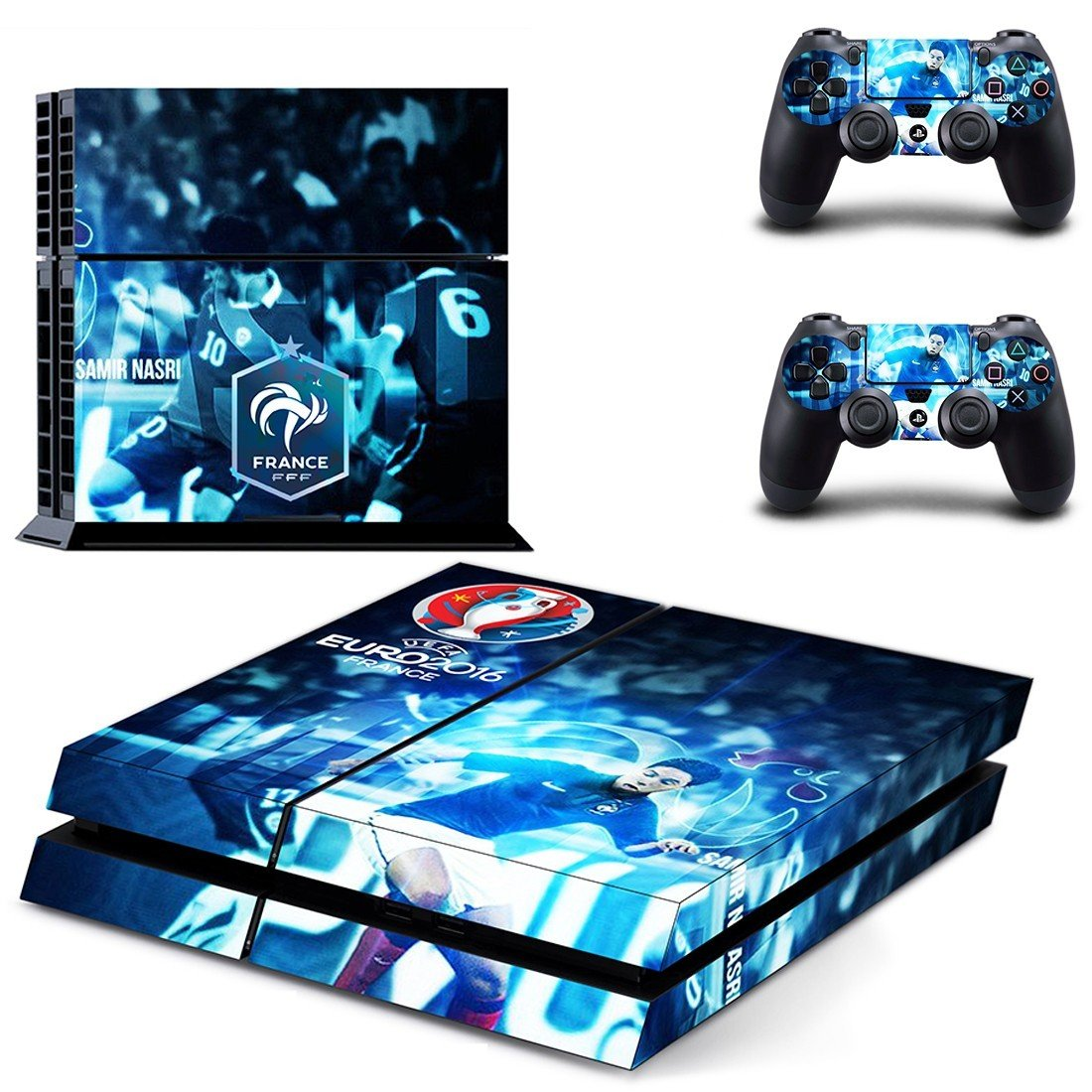 france football team ps4 skin decal for console and controllers
