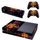 fcbarcelona skin decal for  Xbox one console and controllers