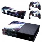 galaxy skin decal for  Xbox one console and controllers