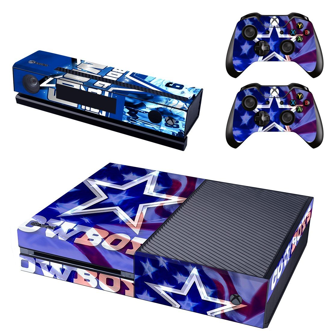 cowboy star skin decal for  Xbox one console and controllers