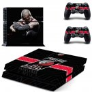 Portland Trail Blazers ps4 skin decal for console and controllers