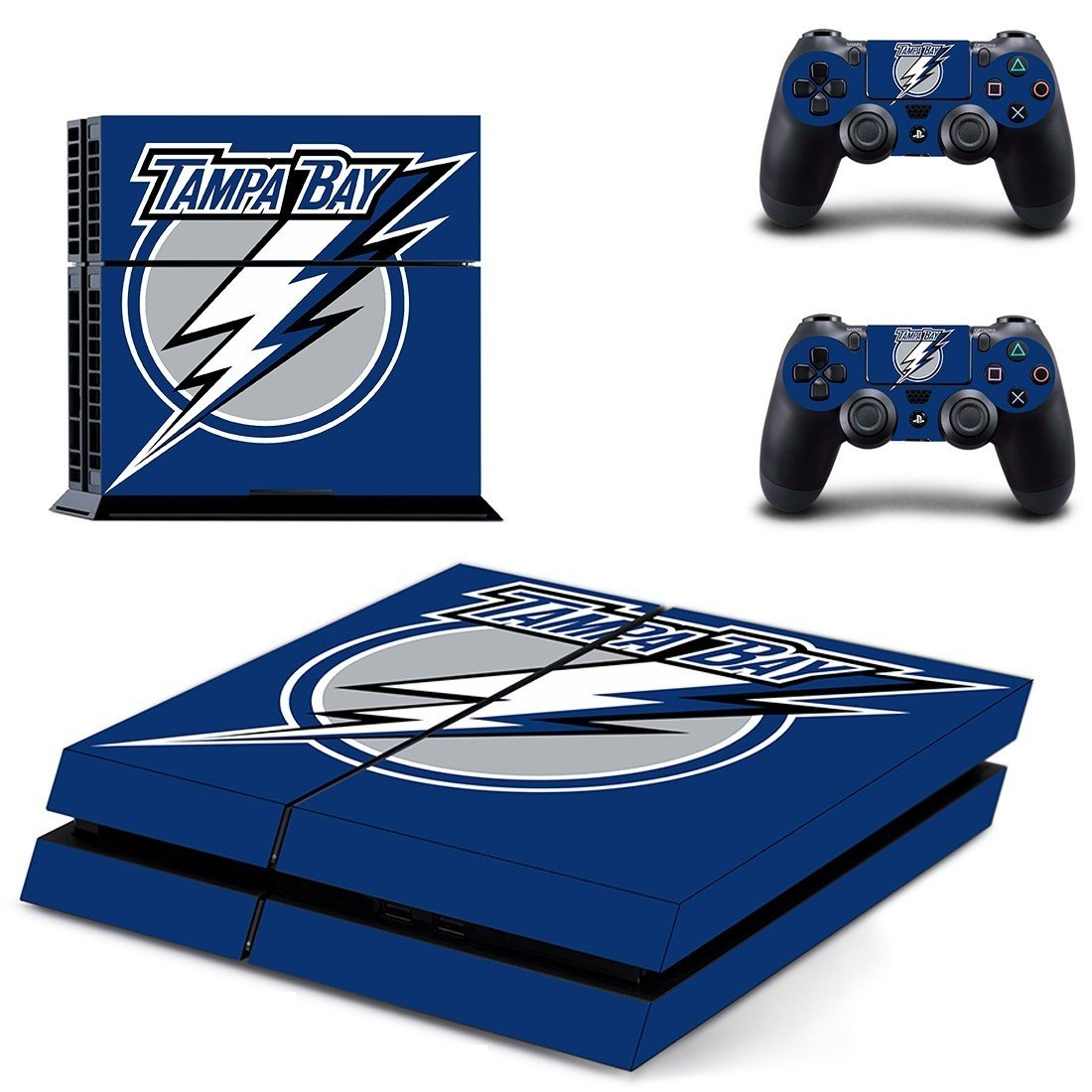 tampa bay water body ps4 skin decal for console and controllers