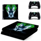 the joker ps4 skin decal for console and controllers