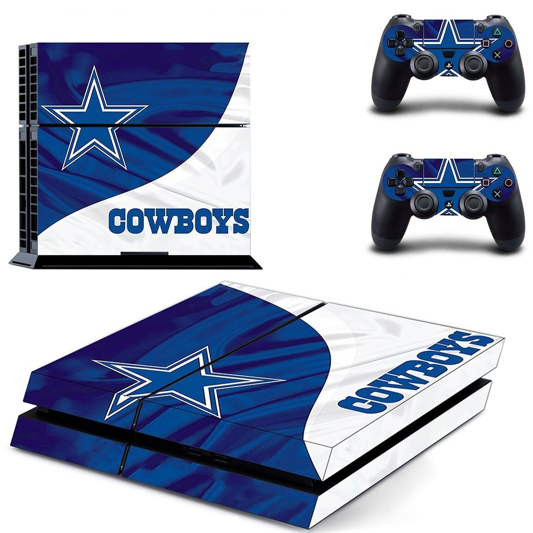 cowboys ps4 skin decal for console and controllers