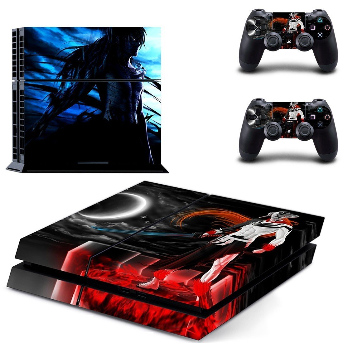bleach wallpaper ps4 skin decal for console and controllers