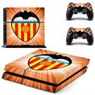 valencia cf soccer club ps4 skin decal for console and controllers