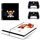 abertura one piece ps4 skin decal for console and controllers