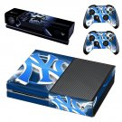 yankees skin decal for  Xbox one console and controllers