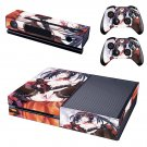 anime girl skin decal for  Xbox one console and controllers