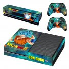dragon ball super son goku skin decal for  Xbox one console and controllers