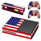 us flag skin decal for Xbox one console and controllers