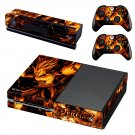 vegeta dragon ball z skin decal for Xbox one console and controllers