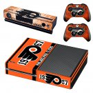 philadelphia flyers skin decal for Xbox one console and controllers