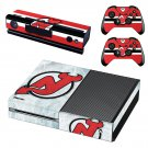 new jersey devils skin decal for Xbox one console and controllers