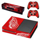 detroit red wings skin decal for Xbox one console and controllers