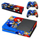 sonic heroes skin decal for Xbox one console and controllers