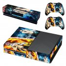 natsu skin decal for Xbox one console and controllers