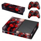 deadpool skin decal for Xbox one console and controllers