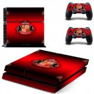 sunderland afc ps4 skin decal for console and controllers