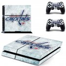 washington capitals ps4 skin decal for console and controllers