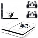 gundam head ps4 skin decal for console and controllers