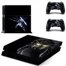 gundam wing ps4 skin decal for console and controllers