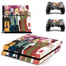 ninja naruto hero ps4 skin decal for console and controllers