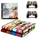 naruto uzumaki ps4 skin decal for console and controllers