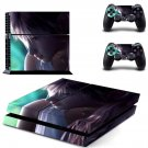 animated girl ps4 skin decal for console and controllers