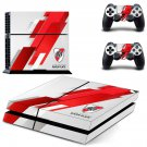 club atletico river plate ps4 skin decal for console and controllers