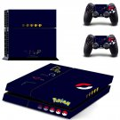 pokemon ps4 skin decal for console and controllers