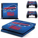 buffalo bills ps4 skin decal for console and controllers