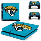 jaguars nfl ps4 skin decal for console and controllers
