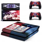 new york giants  ps4 skin decal for console and controllers