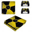 nuclear design Play Station 4 slim skin decal for console and 2 controllers