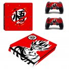 Dragon Ball Xenoverse Play Station 4 slim skin decal for console and 2 controllers