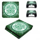 The Celtic Football Club Play Station 4 slim skin decal for console and 2 controllers