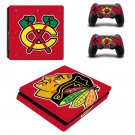 Portland Winterhawks Play Station 4 slim skin decal for console and 2 controllers