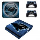 Carolina Panthers Play Station 4 slim skin decal for console and 2 controllers