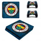 Fenerbahçe S.K Play Station 4 slim skin decal for console and 2 controllers