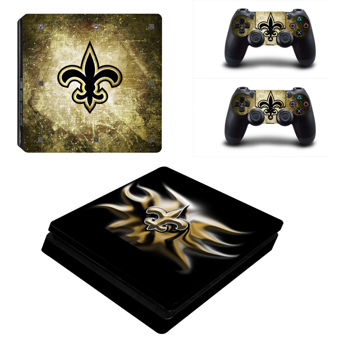 Indianapolis Colts Play Station 4 slim skin decal for console and 2 controllers