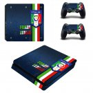Flag of Croatia Play Station 4 slim skin decal for console and 2 controllers