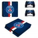 Paris Saint-Germain F.C Play Station 4 slim skin decal for console and 2 controllers